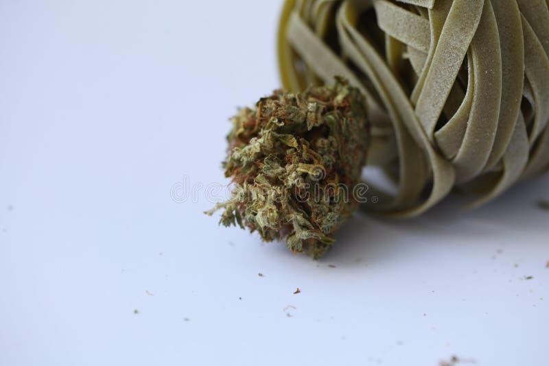 Pączkowy medyczny marihuany marihuany konopie thc obraz stock