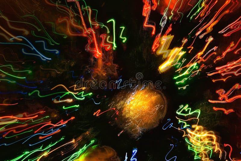 Pękać Lekkiego abstrakt zdjęcie royalty free