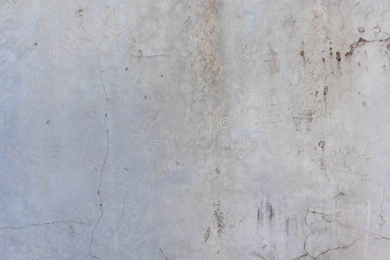 Pęknięcia i ściany betonowe obraz stock