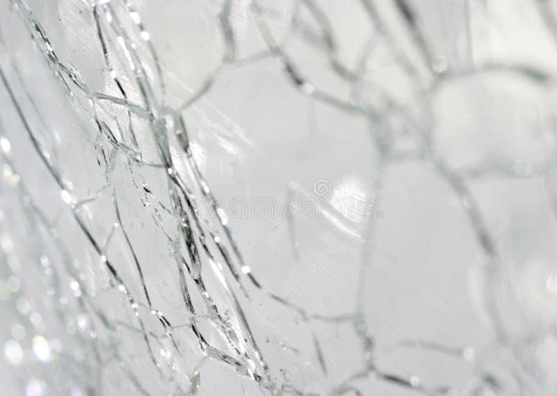 pęknięte szkła zdjęcie stock
