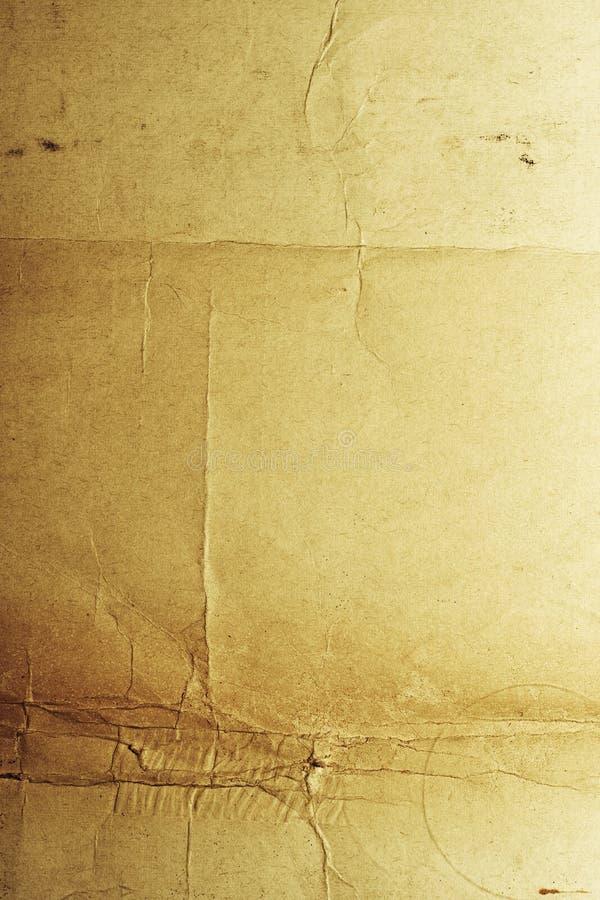 pęknięte szorstki papier obrazy stock