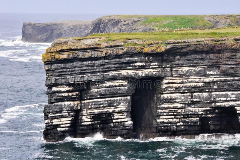 Pętli głowy falezy, Irlandia fotografia royalty free