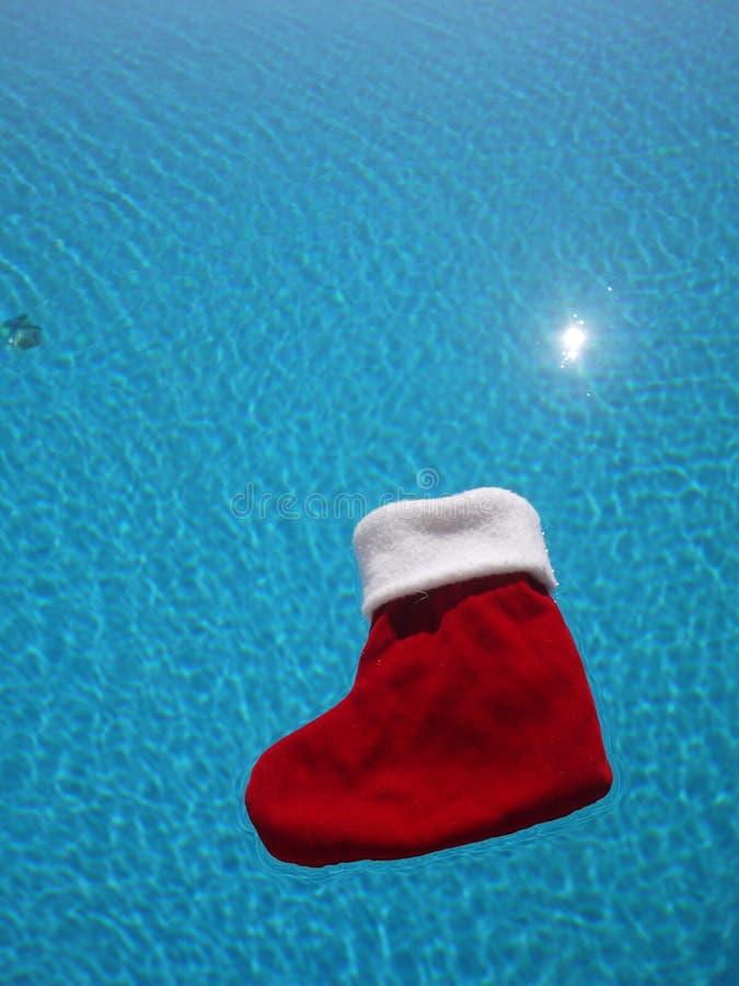 Płótno buty na wodzie w basenie zdjęcia stock