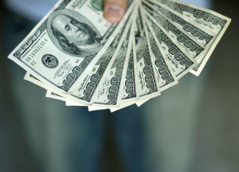 Download Płać człowieku obraz stock. Obraz złożonej z pieniądze - 136133
