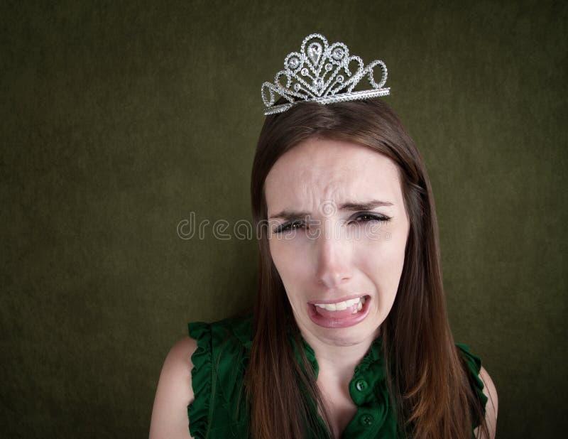 płacząca tiary kobieta obraz royalty free