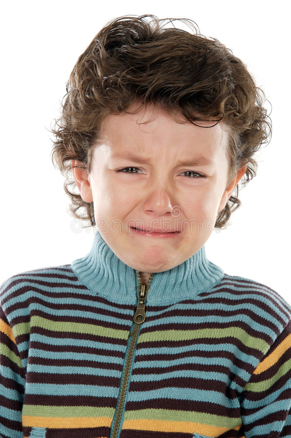 płacz dziecka obrazy stock