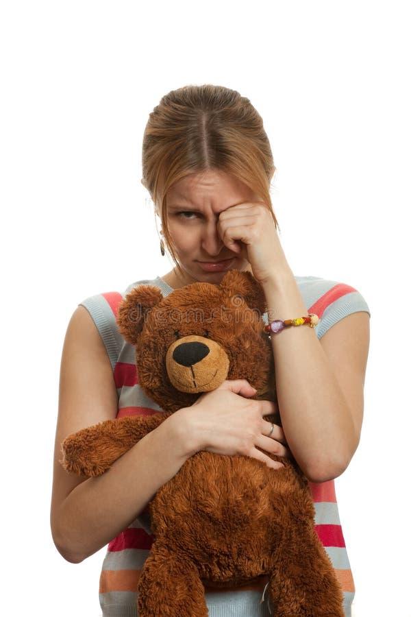 płacz dziewczyna zdjęcie royalty free