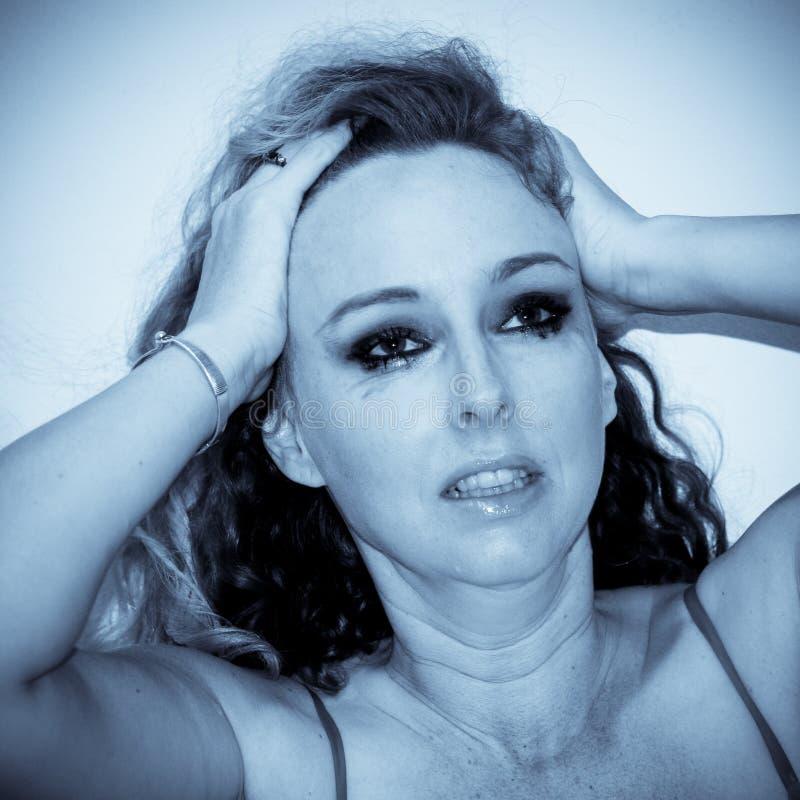 płacz kobieta zdjęcia royalty free