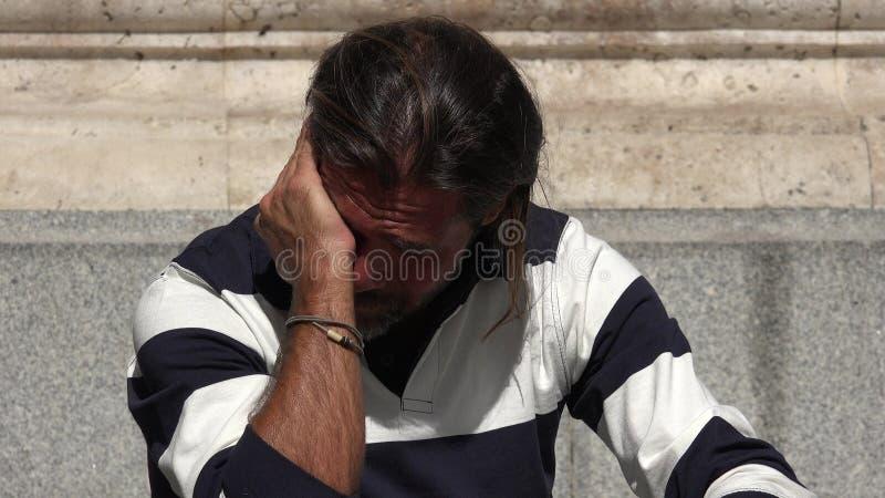 Płacz osoba obraz stock