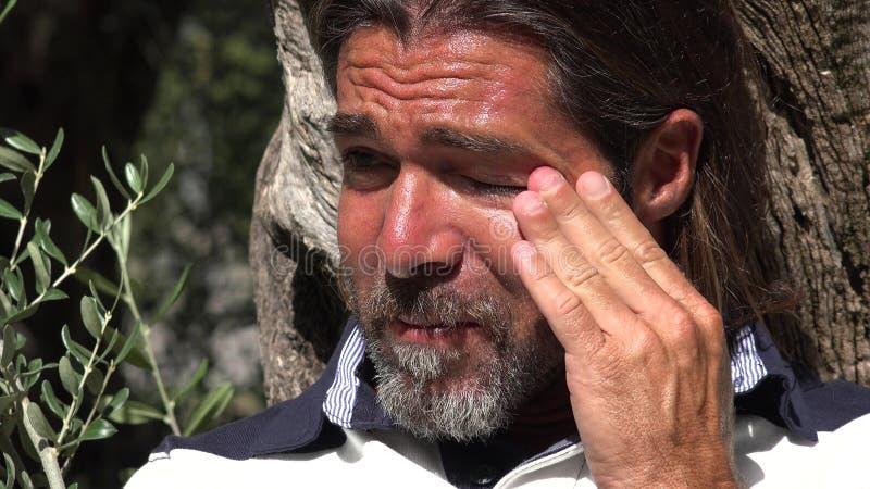 Płaczu europejczyka samiec zdjęcie stock