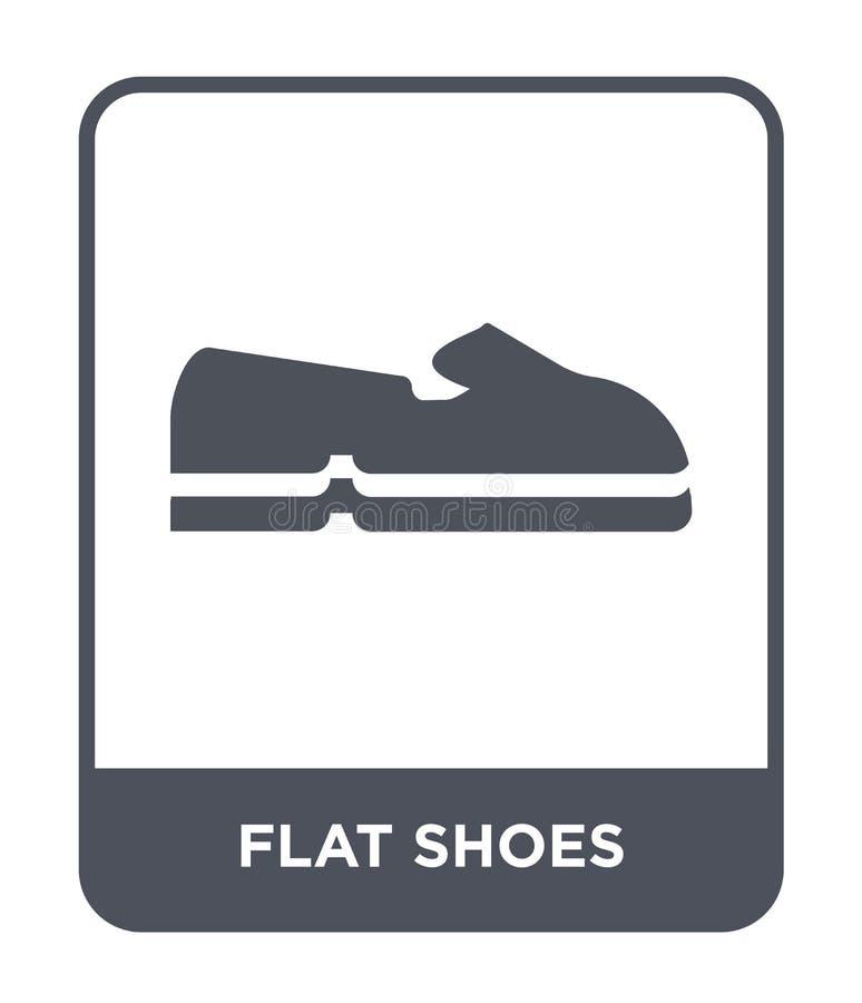 płaska but ikona w modnym projekta stylu mieszkanie kuje ikonę odizolowywającą na białym tle mieszkanie kuje wektorową ikonę pros royalty ilustracja
