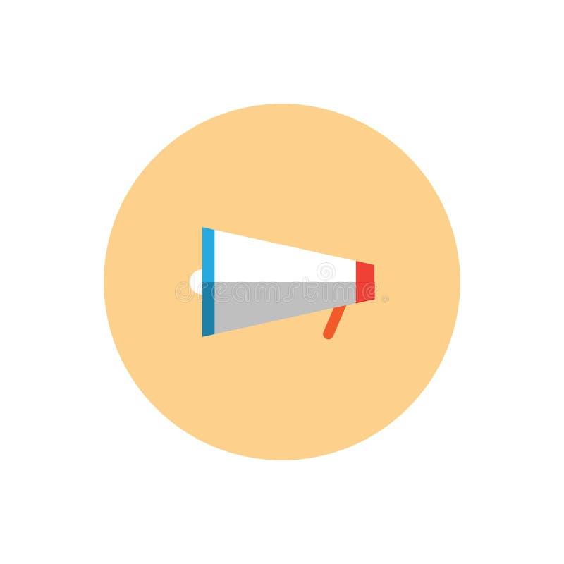 Płaska kopertowa wektorowa ikona Odizolowywająca na białym tle dla graficznego projekta, logo, strona internetowa, ogólnospołeczn ilustracji