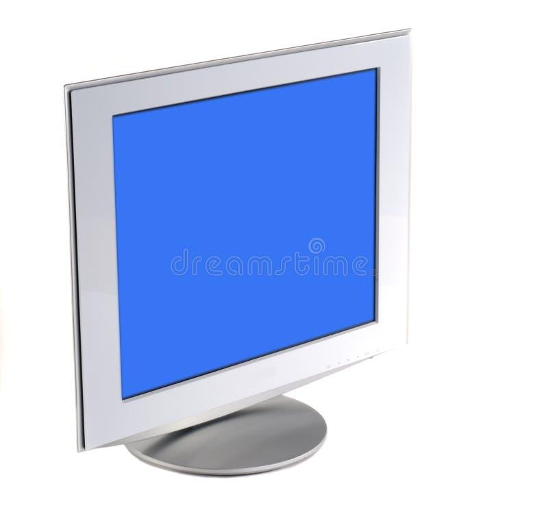 płaski ekran monitora fotografia stock