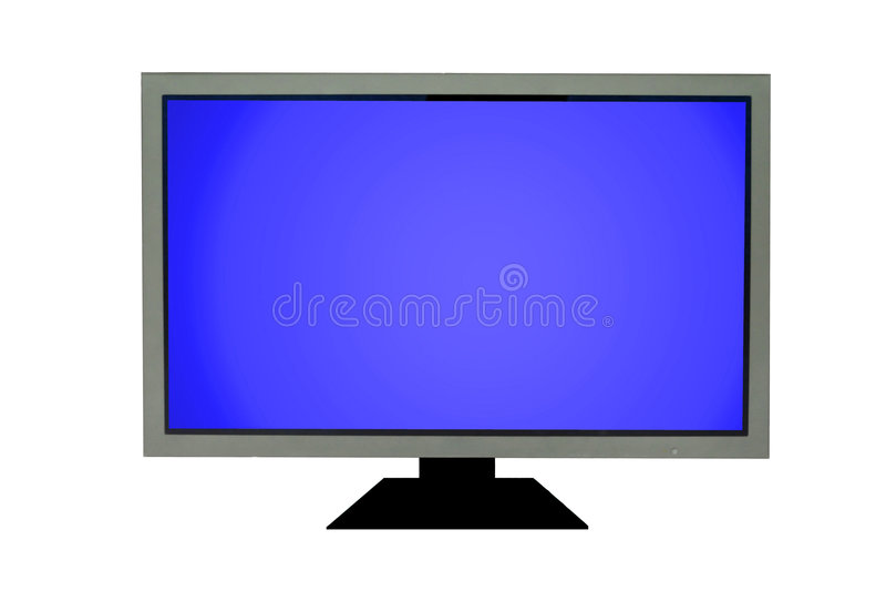 płaski ekran tv ilustracji
