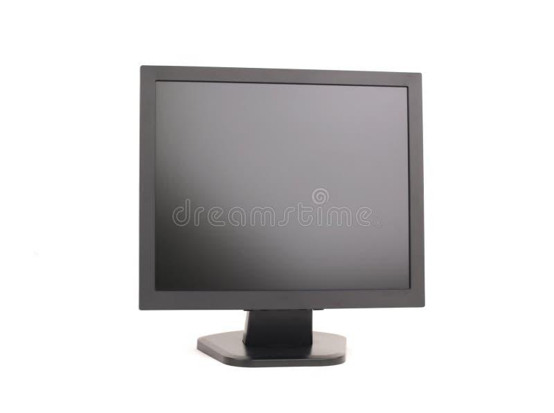 płaski komputerowy monitor zespołu zdjęcie stock
