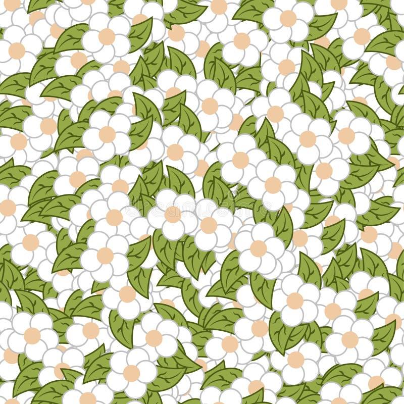 Płaski kwiatu wzór ilustracji