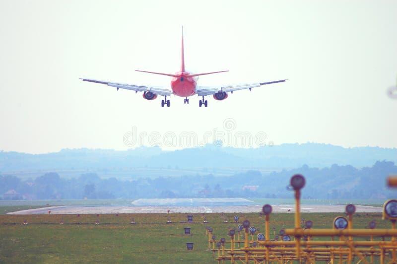 Płaski lądowanie zdjęcie royalty free