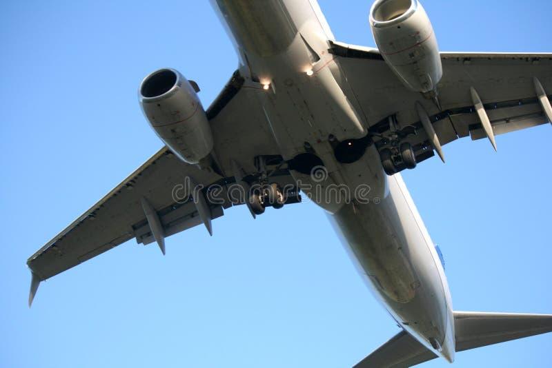 Płaski lądowanie zdjęcie stock