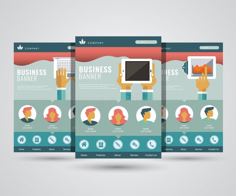 Płaski nowożytnego projekta szablon dla cyfrowego marketingu, zaczyna w górę, planujący, seo, analiza Płaska wektorowa ilustracja ilustracja wektor