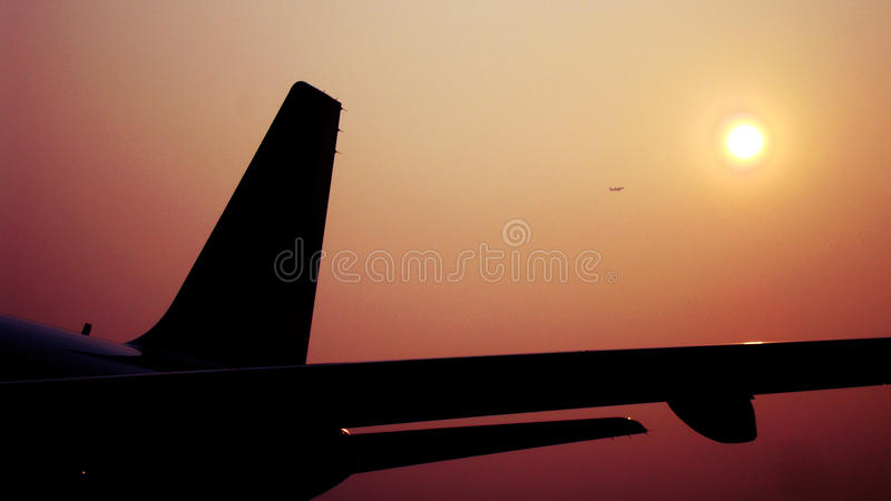 płaski słońce fotografia stock
