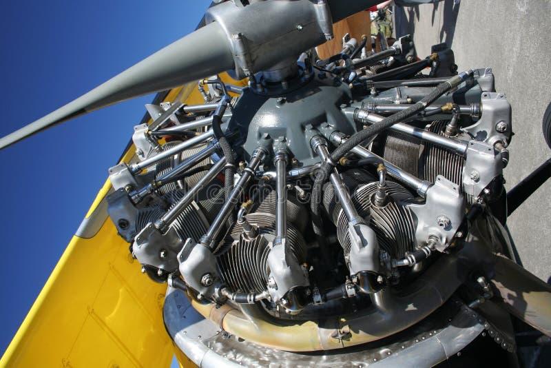 płaski starshaped silnika zdjęcia stock