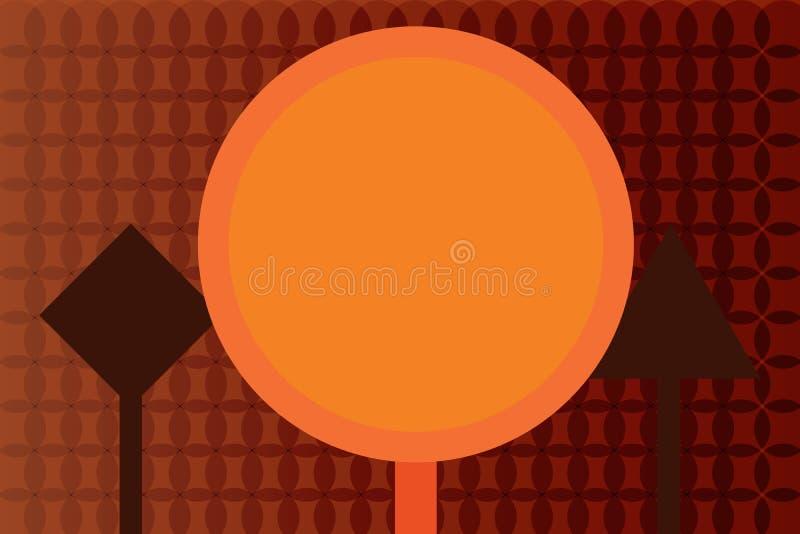Płaskiego projekta biznesowego Wektorowego Ilustracyjnego pojęcia Pusty odbitkowy tekst dla esp sieć sztandarów promocyjnego mate royalty ilustracja