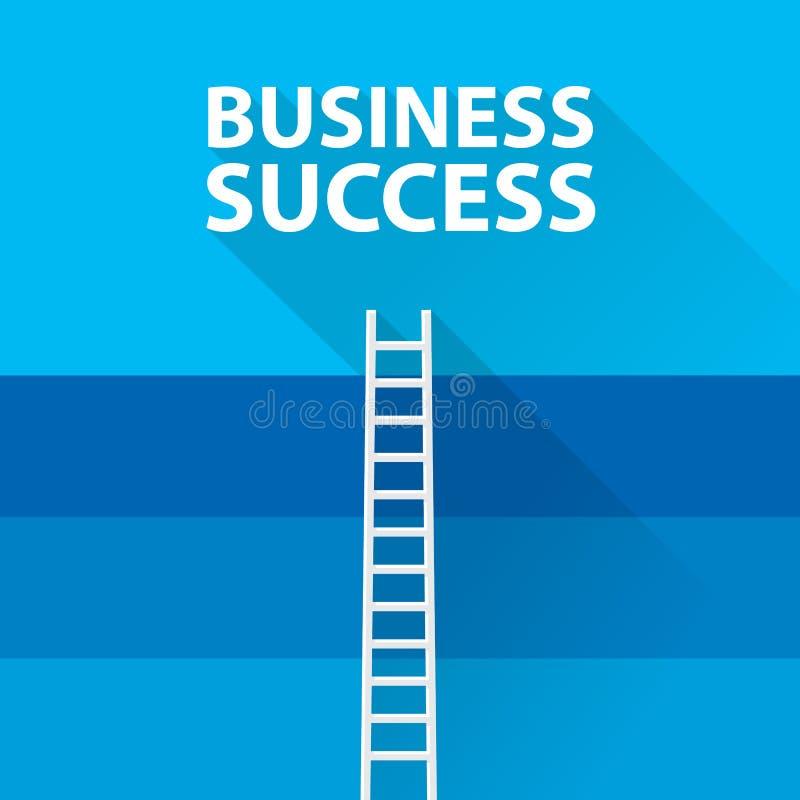 Płaskiego projekta nowożytny wektorowy ilustracyjny infographic pojęcie cyfrowy marketingowy medialny pojęcie, sukces ilustracja wektor
