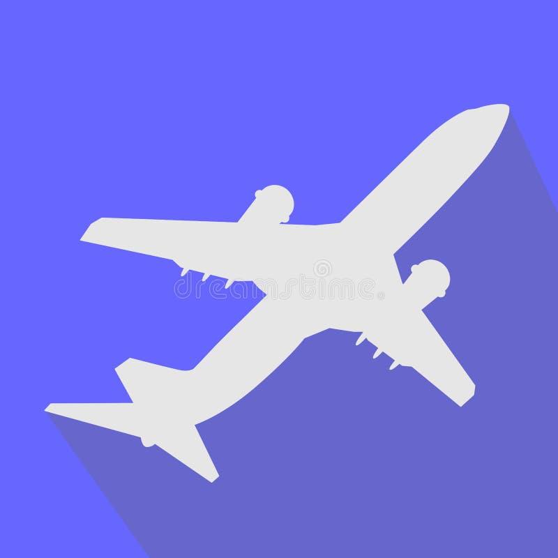 Płaskiej ikony prosty symbol dla app ilustracja wektor
