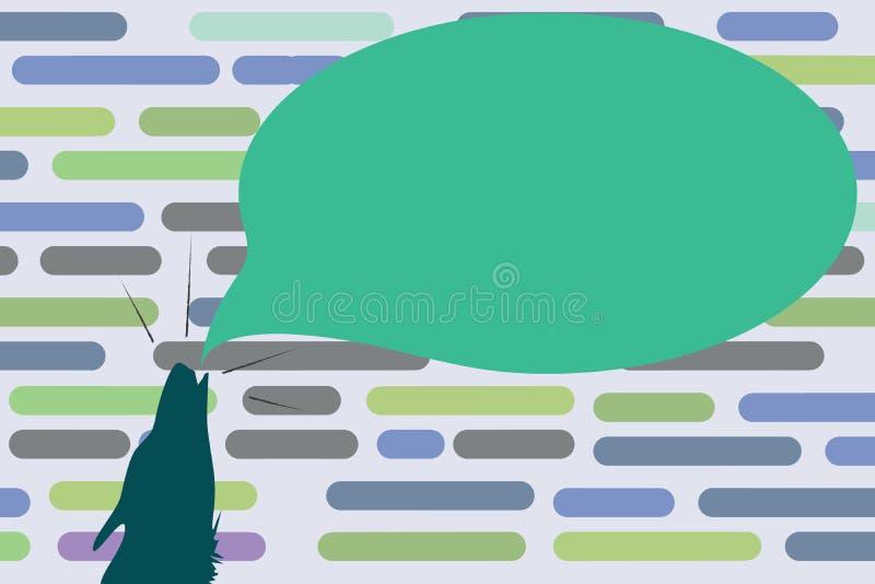 Płaskiej projekt biznesowej Wektorowej ilustraci kopii przestrzeni Pusty tekst dla reklamy strony internetowej promoci sztandaru  royalty ilustracja