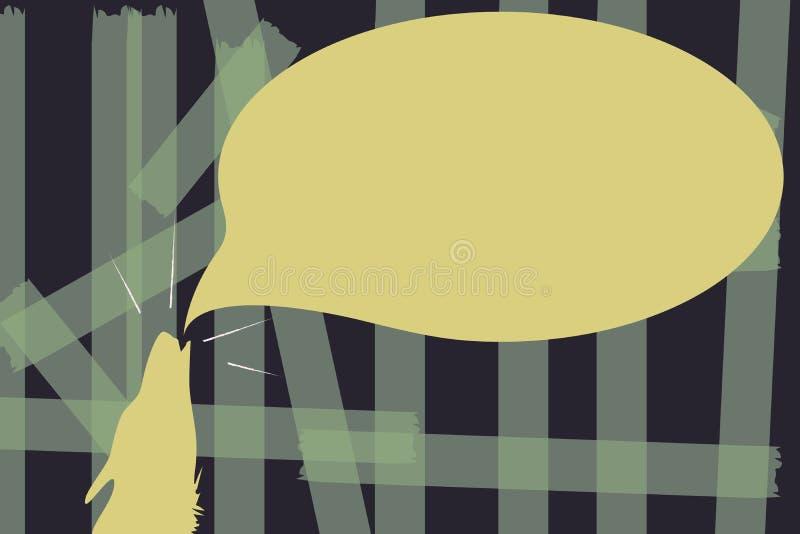 Płaskiej projekt biznesowej Wektorowej ilustraci Pusty szablon dla układu dla zaproszenia kartka z pozdrowieniami alegata promocy ilustracji