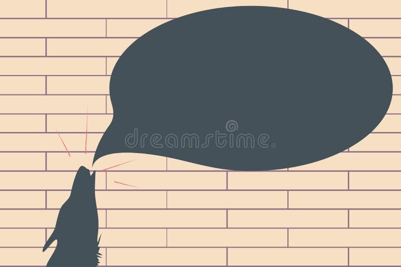 Płaskiej projekt Wektorowej ilustraci szablonu kopii przestrzeni Pusty esp tekst dla reklamy, promocja, plakat, ulotka, sieć szta ilustracja wektor