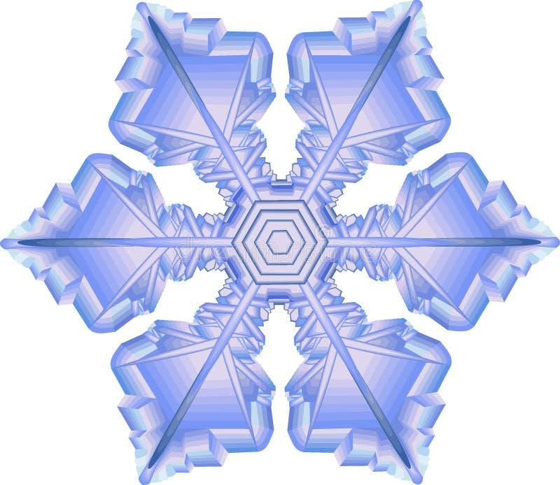 płatek śniegu ilustracji