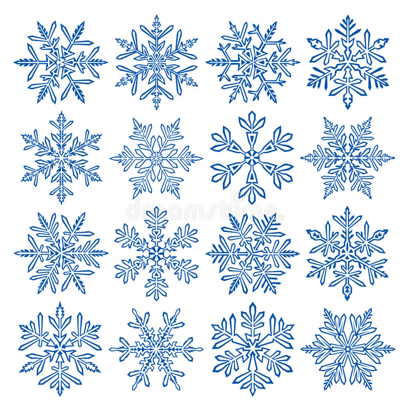 płatek śniegu ilustracja wektor