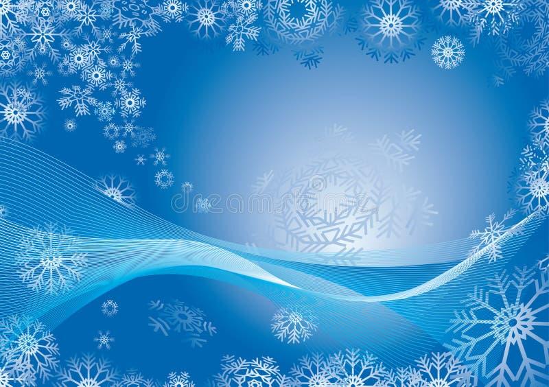 płatek śniegu abstrakcyjne tło ilustracja wektor