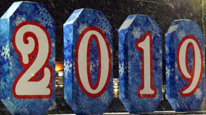 Płatek śniegu wzory na sztandarach z liczbami obrazy royalty free