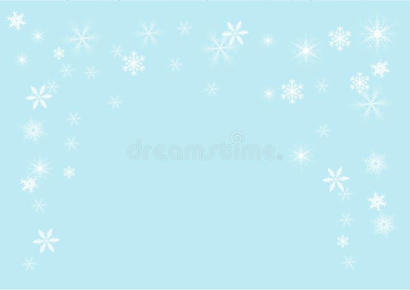 płatka śniegu ilustracyjny wektor ilustracja wektor