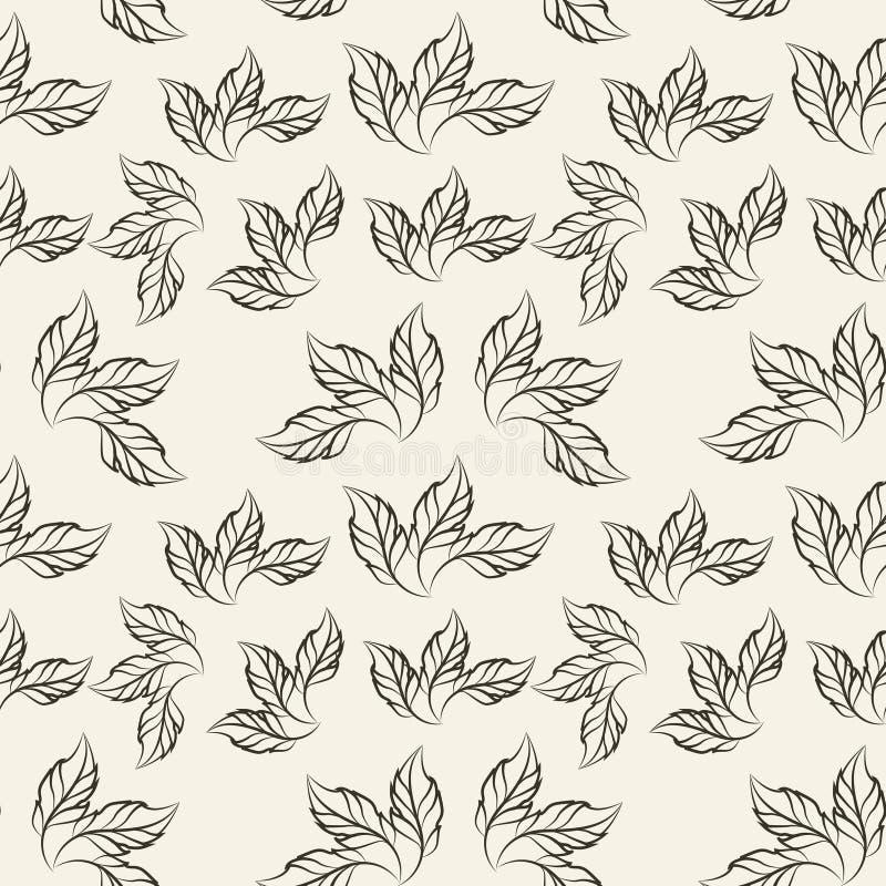 płatka kwiatu Szydełkowy wzór, ilustracja zdjęcia stock