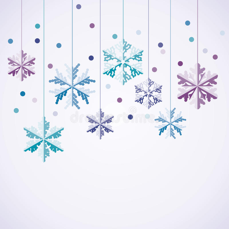 płatki śniegu ilustracji