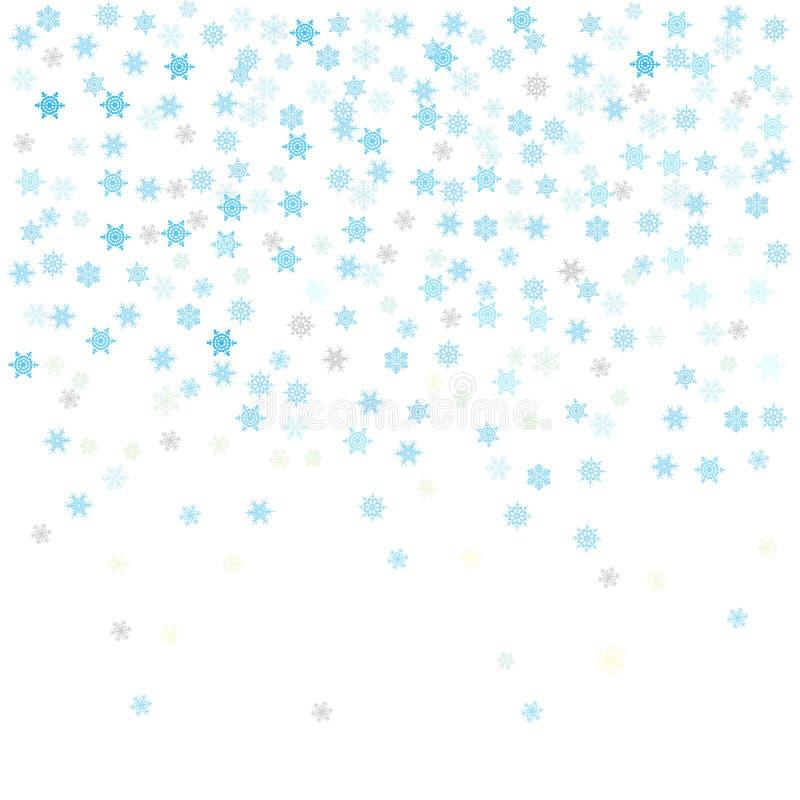 Płatki śniegu, komputer Wytwarzali ilustrację royalty ilustracja