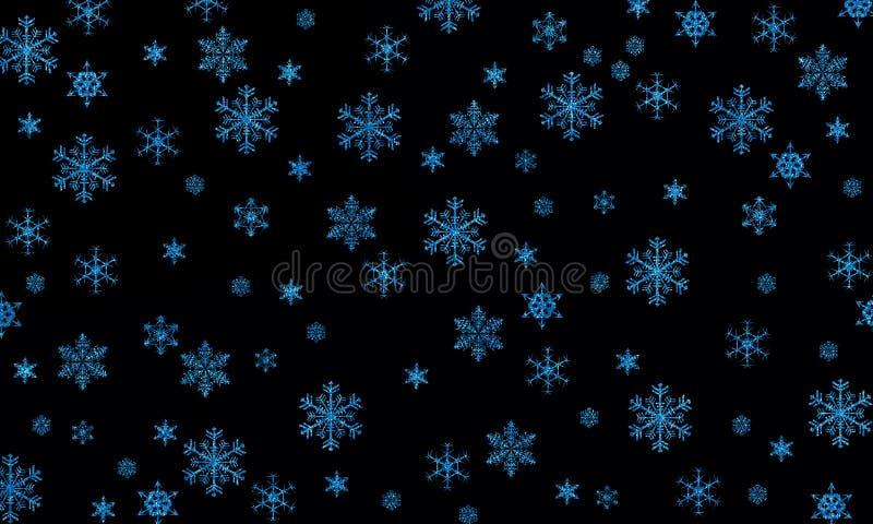 Płatki śniegu są cudem obrazy stock