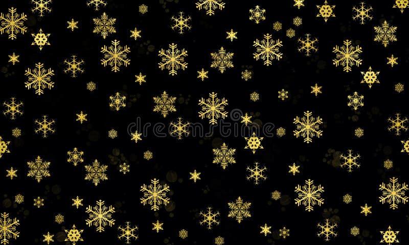 Płatki śniegu są cudem fotografia stock