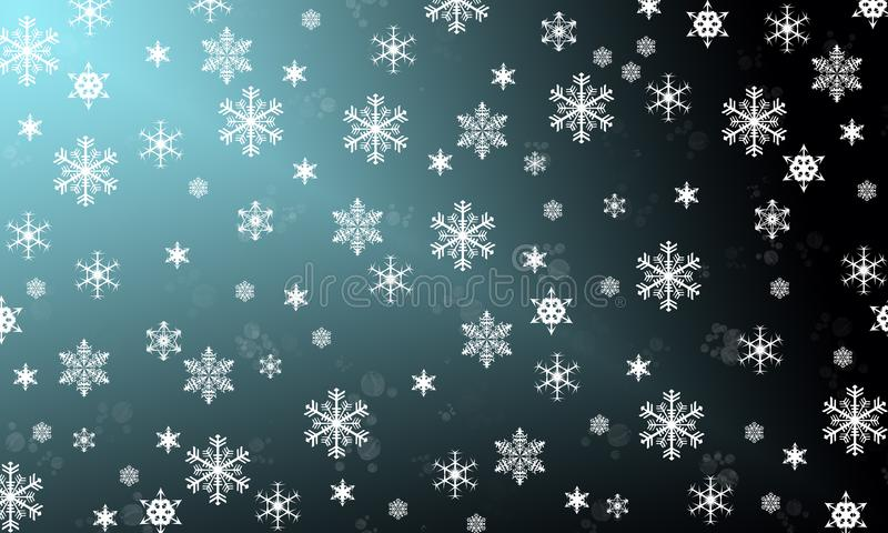 Płatki śniegu są cudem fotografia royalty free