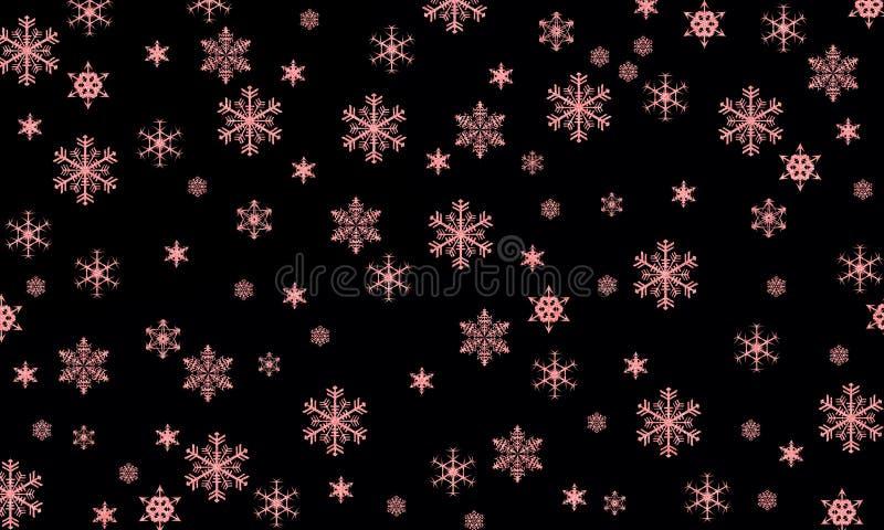 Płatki śniegu są cudem zdjęcie royalty free