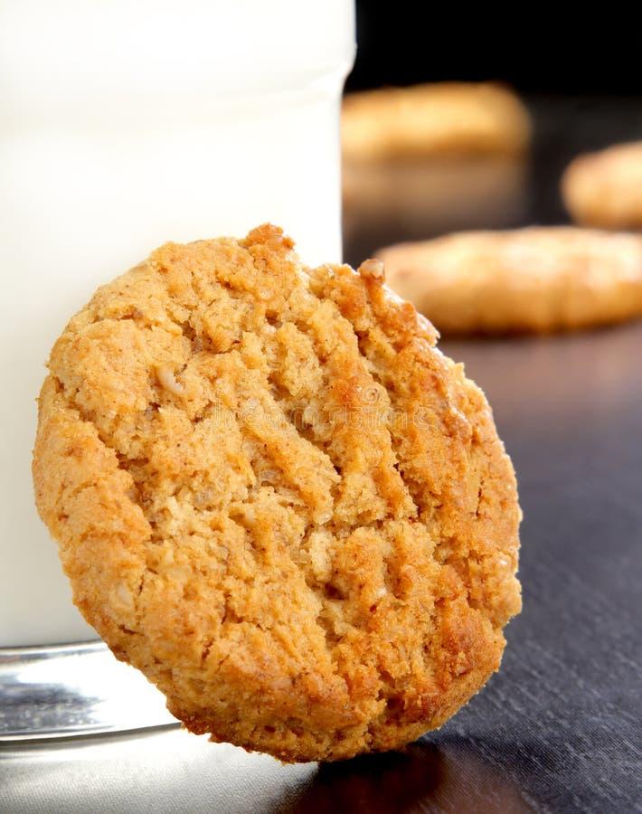 płatki owsiane ciasteczka fotografia stock