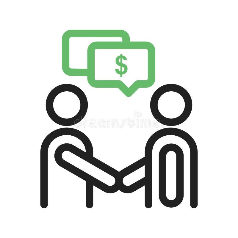 Płatnicza dyskusja ilustracji