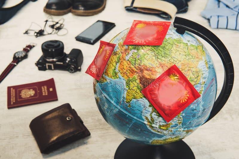 Płci turystyki pojęcie obrazy stock