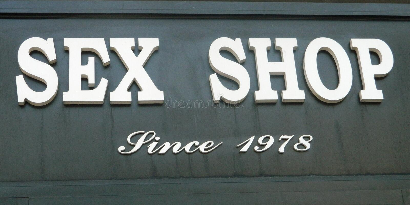 Płeć sklepu znak fotografia royalty free