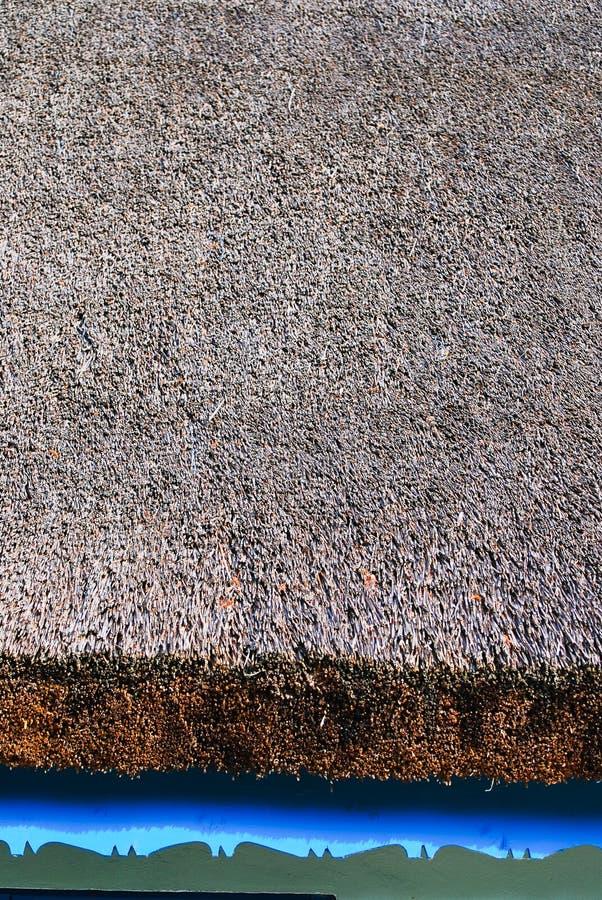 Płocha dach na tradycyjnym domu obrazy stock