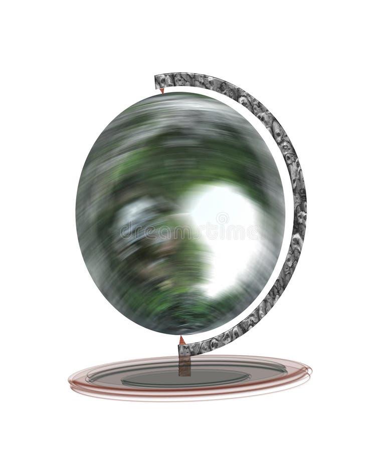 Płodozmienna kula ziemska fotografia royalty free