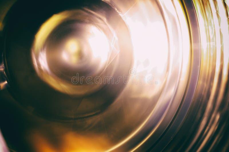 Płodozmienny koło Płodozmienny mechanizm, fotografujący na długim ujawnieniu obrazy stock